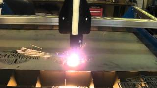 R-Tech CNC Plasma Cutting System 240V 50Amp - Demonstration