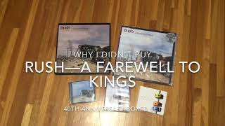 Baixar Why I didn't buy the Rush A Farewell to Kings 40th Anniversary Boxed Set