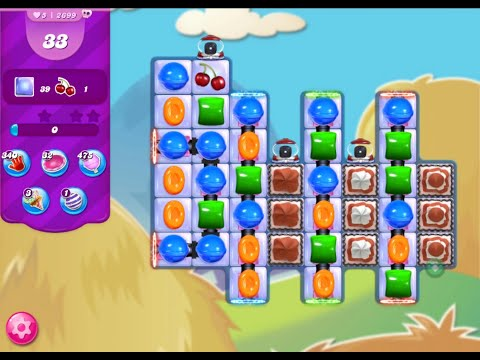 Candy Crush Saga Level 2699 No Boosters