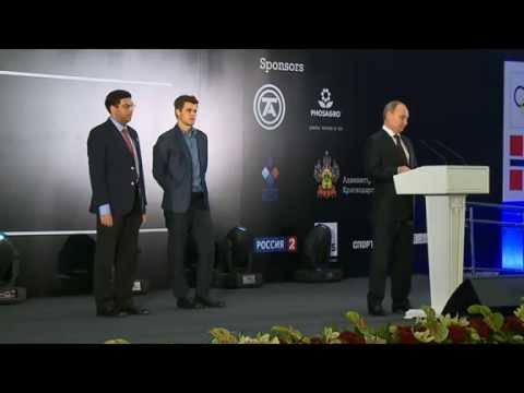 Putin at World Chess Championship