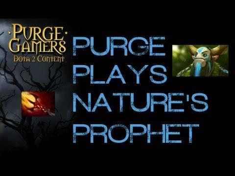 Dota 2 Purge plays Dagon Nature's Prophet