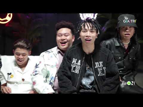 GDucky dỗi vì Thành Draw bơ, Yuno BigBoi tâm sự số kí lô trước cưới  Live Concert Rap Việt All-Star