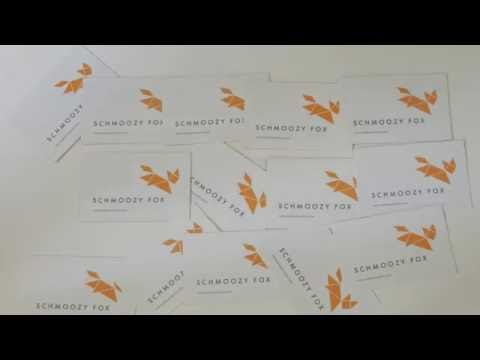 Schmoozy Fox: Branding at its best