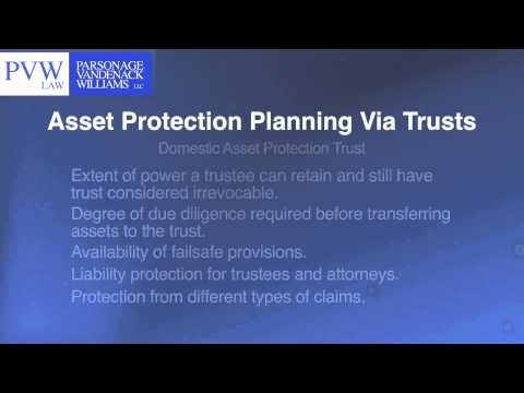 Asset Protection Planning 2