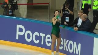 Елизавета Туктамышева КП Контрольные прокаты 2019 2020 Tuktamysheva Elizaveta SP Open Skates