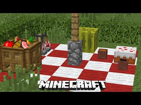 How to Make PICNIC [Minecraft Tutorial]