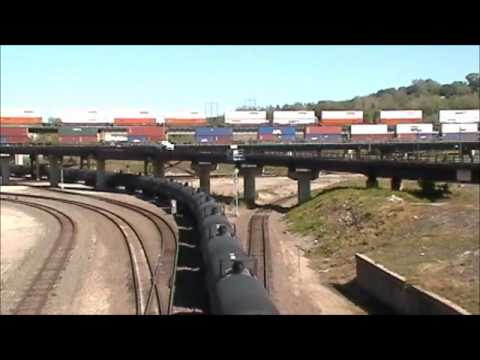Kansas City Railfanning 9-8-12 **THREE WAY MEET**