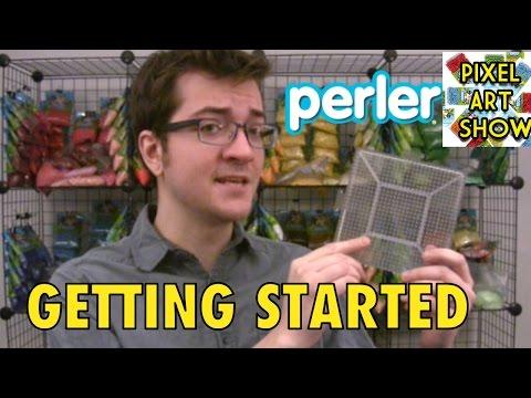 Perler Beads Tutorial Getting Started - Pixel Art Show