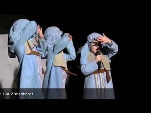 Christmas Plays For Kids.Nativity Plays For Kids The Shepherds Scene