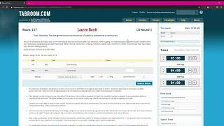 Nationals - Debate Ballots in Tabroom.com