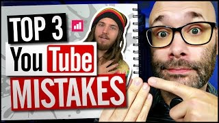 Top 3 YouTube Mistakes To Avoid For Channel Growth