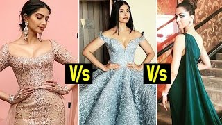 Cannes 2017: Sonam V/S Aishwarya V/S Deepika | Who looked the best ?