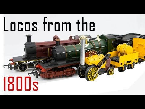 Seven ages of Steam: Locomotives from the 1800s