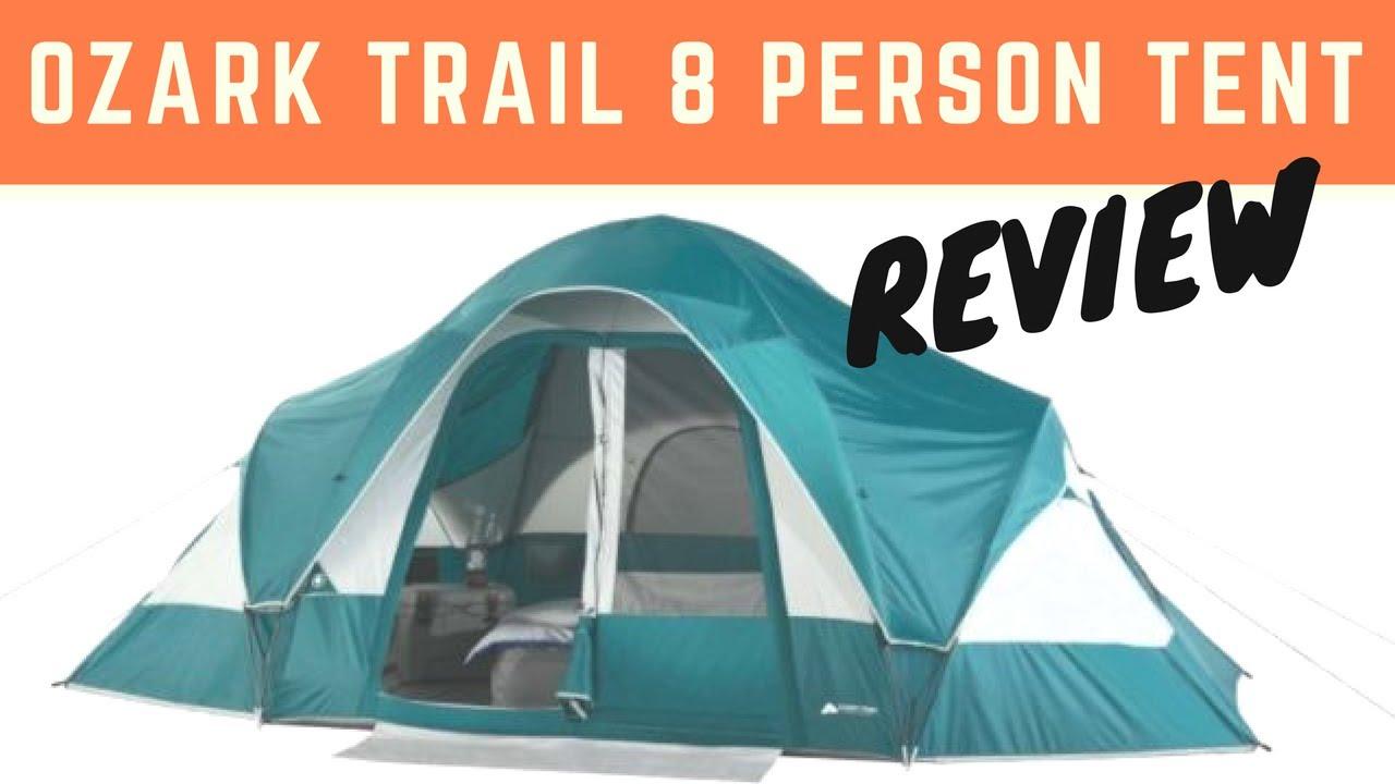 Ozark Trail 8 Person Dome Tent