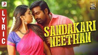 Sangathamizhan - Sandakari Neethan Lyric | Vijay Sethupathi, NivethaPethuraj | Vivek-Mervin