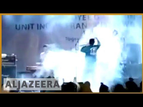 🇮🇩Dramatic video shows tsunami crashing into rock concert | Al Jazeera English