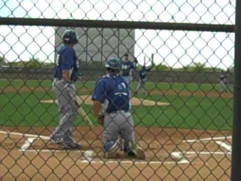 Dodgers Russ Mitchell Spring Training 2012