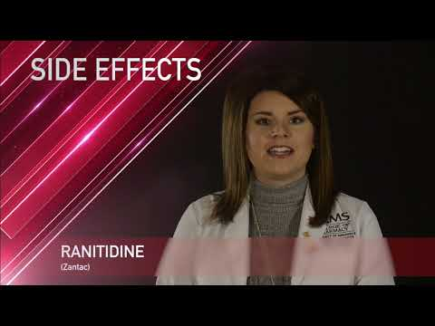 Ranitidine Or Zantac Medication Information (dosing, Side Effects, Patient Counseling)