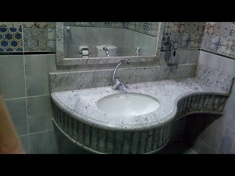 Moon White Granite Bathroom Countertop Ammar Company Egypt Youtube