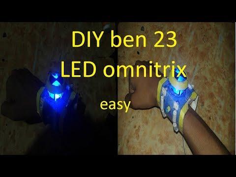 """LED omnitrix""(DIY ben 23 LED omnitrix)"