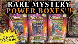 VINTAGE PACK PULL!! Opening 3 INCREDIBLE Pokemon Mystery Power Boxes!