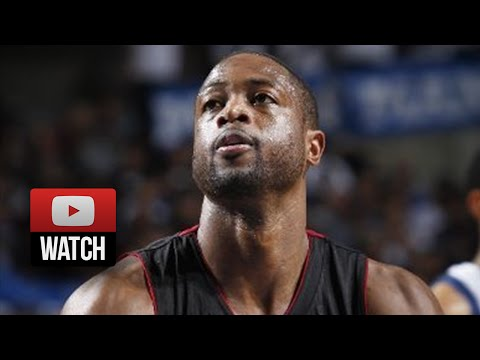 Dwyane Wade Full Highlights at Mavericks (2014.11.09) - 20 Pts, 10 Ast, Great Passing!