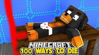 Minecraft - 100 WAYS TO DIE 2 - Little Club Baby Max Custom Maps Challenge