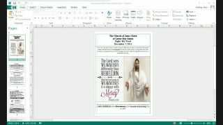 Publisher - Save to .PDF