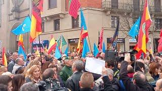 Concentración en contra de la transferencia de tráfico a Navarra