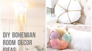diy bohemian room decor ideas