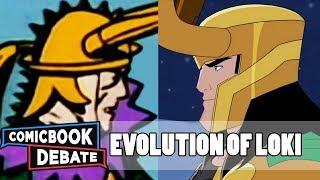 Evolution of Loki in Cartoons in 9 Minutes (2018)