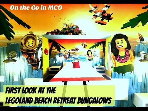 First Look at the LEGOLAND Florida Beach Retreat Bungalows
