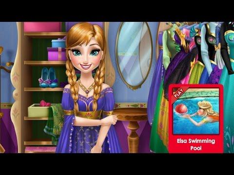 Барби Игры Одевалки—Красивая Дисней Принцесса—Мультик Онлайн Видео Игры Для Детей 2015 Dressup