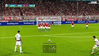 PES 2021   HUNGARY VS PORTUGAL   Full Match & Goals   EURO 2020   C.Ronaldo Best Goal Gameplay