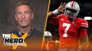Joel Klatt on final College Football rankings, talks Dwayne Haskins' pro potential | CFB | THE HERD