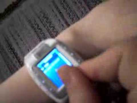 Hyundai w100 watch phone