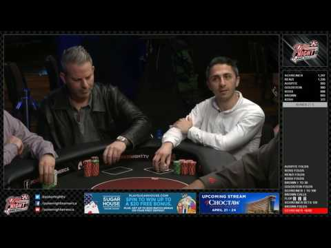 LIVESTREAM - Cash Game Featuring Local Players - SugarHouse Casino, Philidelphia, PA