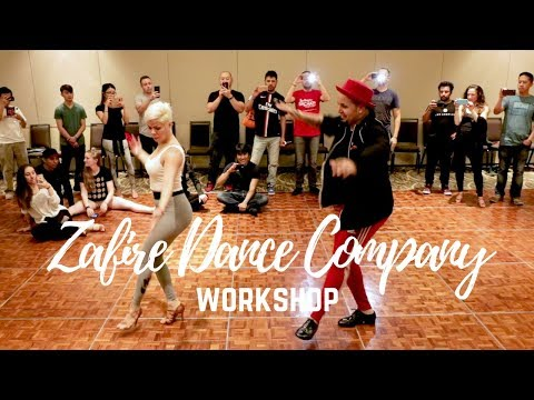Mambo On2 Zafire Dance Company Workshop LABF Los Angeles Bachata Festival Workshop 2018