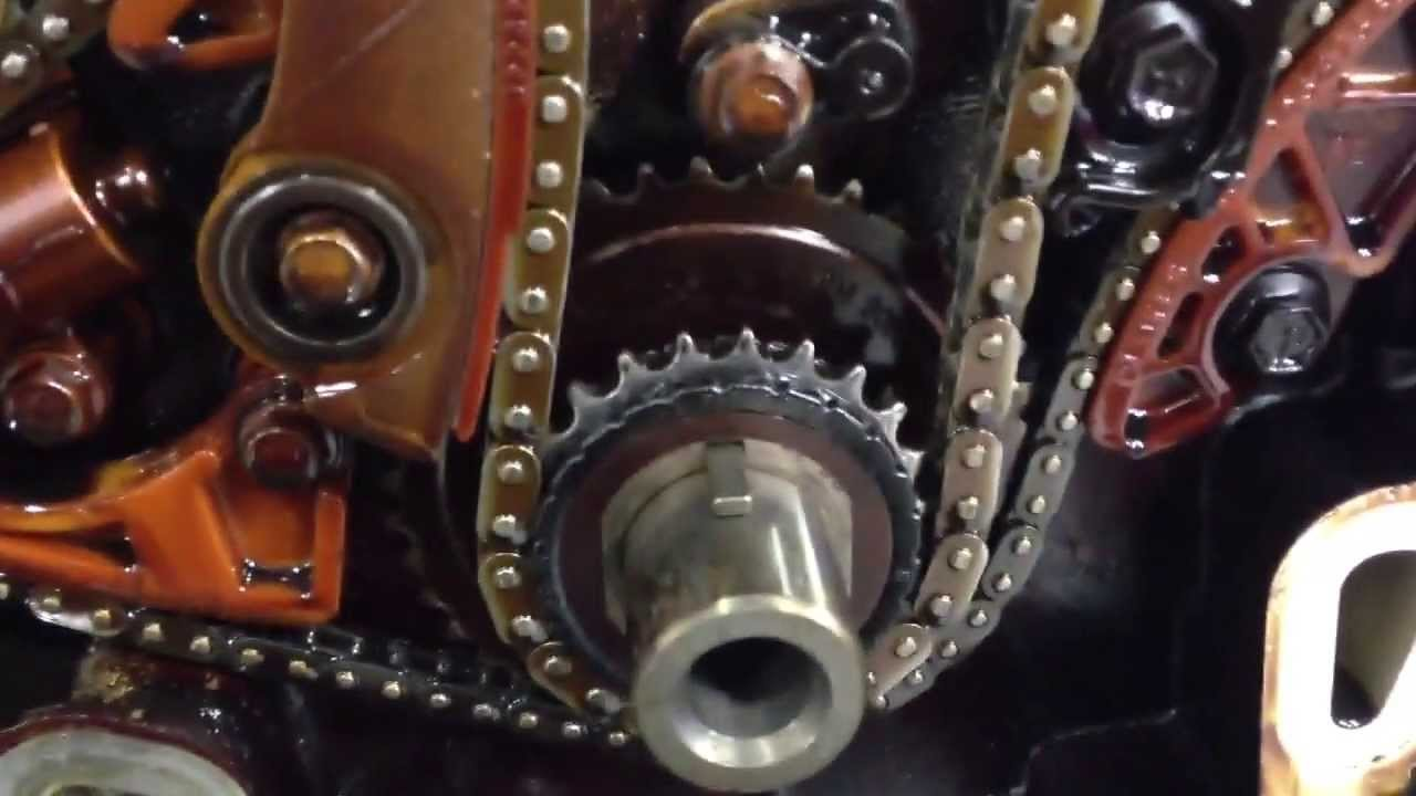 2 4 equinox broken timing chain guide [ 1280 x 720 Pixel ]