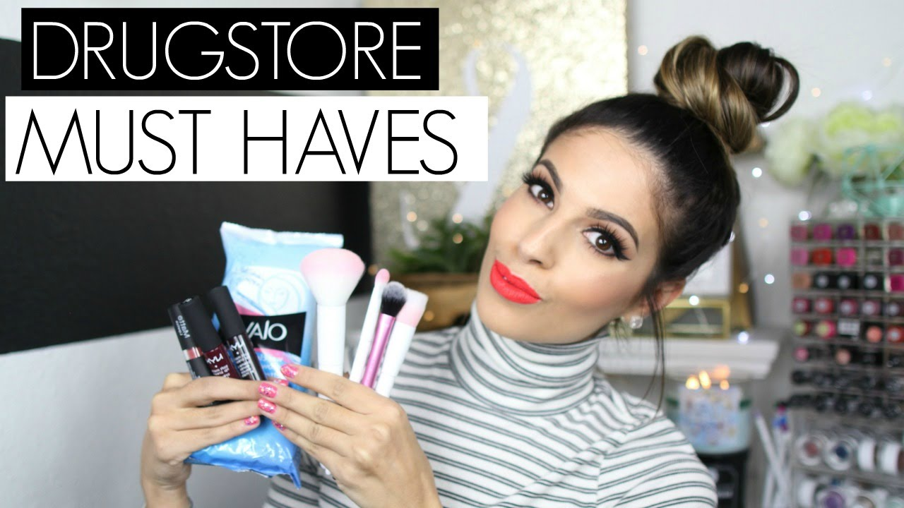Drugstore Must Haves 2015 - YouTube