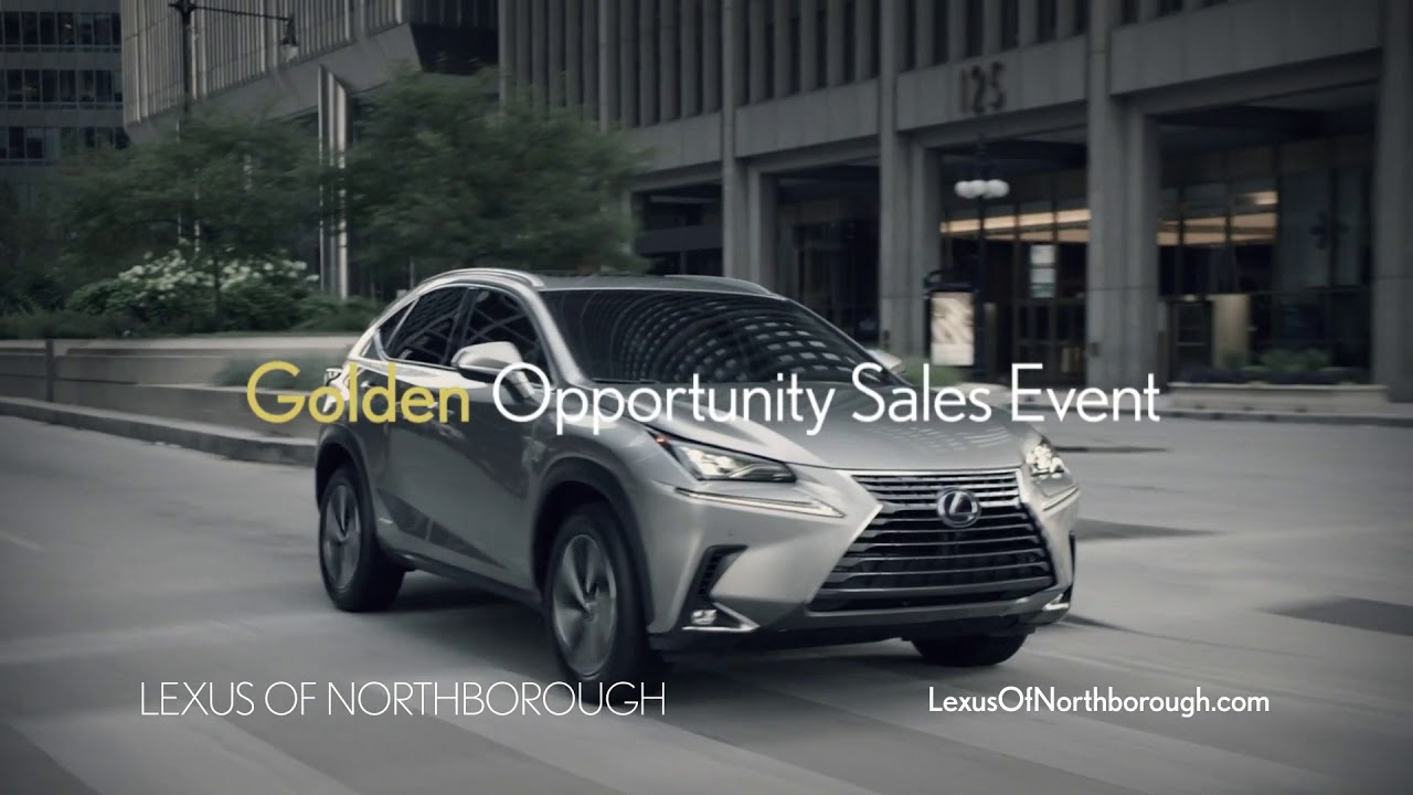 lexus of northborough 2018 golden opportunity sale - youtube