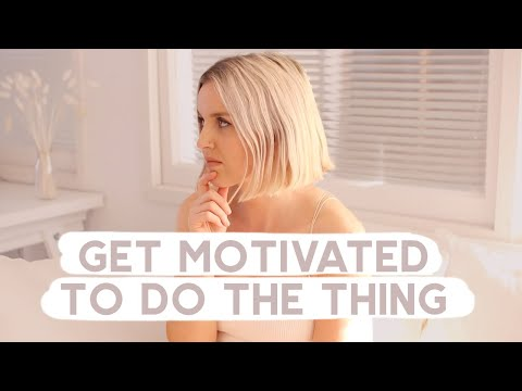 How to Get Motivated Again to Achieve Your Goals
