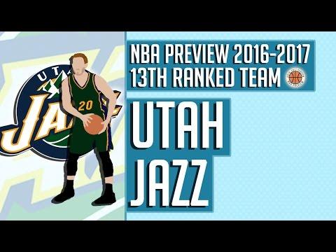 Utah Jazz | 2016-17 NBA Preview (Rank #13)