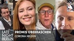 Palina, Matthias Schweighöfer & Otto überraschen Corona-Helden | Late Night Berlin | ProSieben