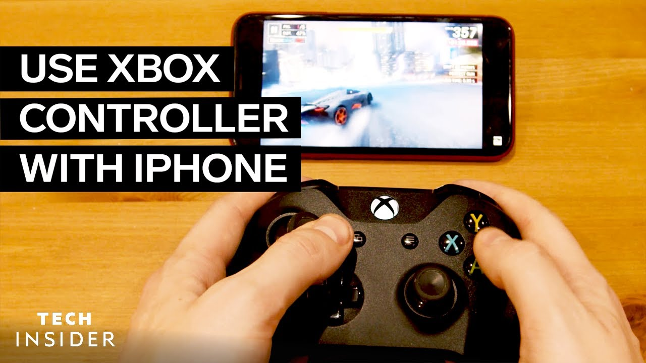 How To Connect Xbox Controller To Iphone Youtube