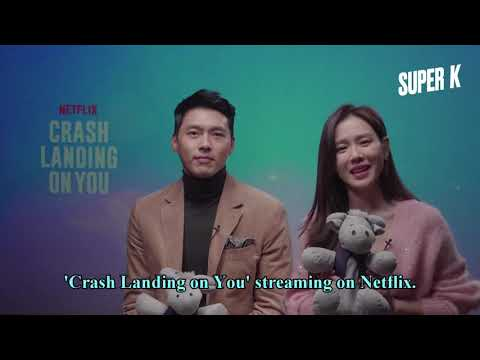 "Super K - Son Ye Jin Hyun Bin Inviting Super K Followers To Watch "" Crash Landing On You"""