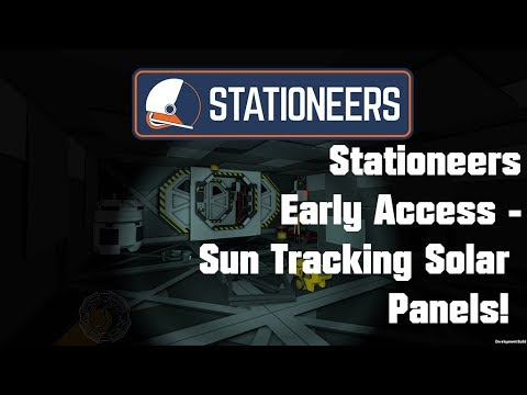 Solar Panels Expansion and Automatic Solar Tracking! - Stationeers Early Access Survival - Episode 3