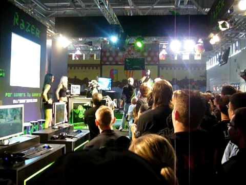 Gamescom 2009 Razerstand