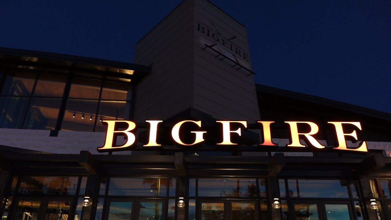 Brand New Bigfire Restaurant At Universal Citywalk Universal Orlando Resort