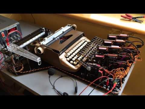 Automated Voice Recognition Typewriter